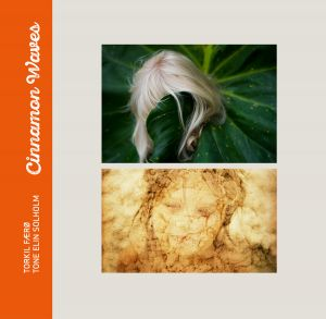 Bilde av fotoboken Cinnamon Waves av Torkil Færø og Tone Elin Solholm. Bokdesign av Tone Elin Solholm.