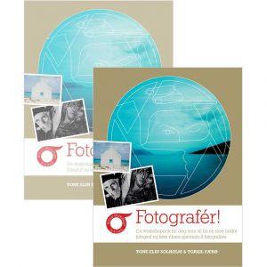 Bilde av to Fotografér!-bøker.