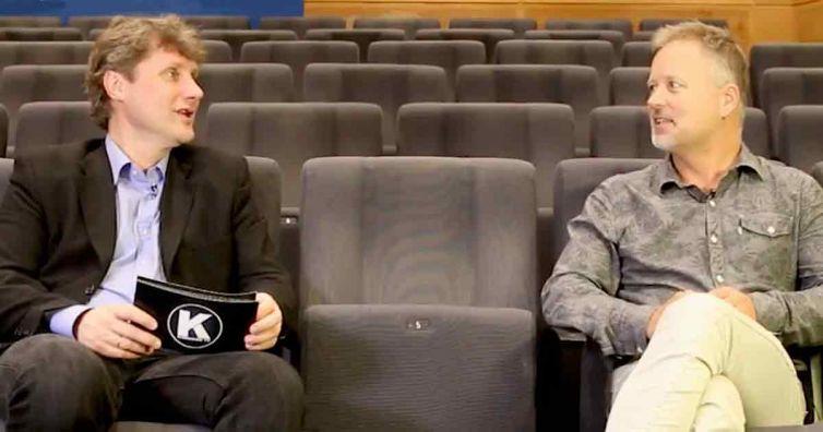 Torkil Færø i intervjusamtale på KarriereTV.